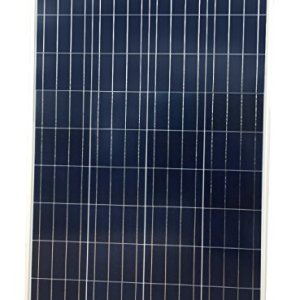 Nature Power 100-Watt Polycrystalline Solar Panel for 12-Volt Charging for RV Boat Back-Up System Off-Grid Application