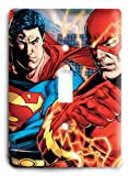 Superman & The Flash Light Speed v1 Light Switch Cover