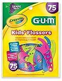 GUM Crayola Kids' Flossers (75 Flossers) Grape
