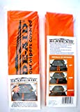 Blade-Aid Windshield Wiper Blades Protective Cover Sleeves in Safety Orange Pack of 2 in Resealable Package