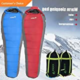 Hebel Winter Sleeping Bag Waterproof Windproof Outdoor Camping Warming Bag BP | Model SLPNGBG - 87 |