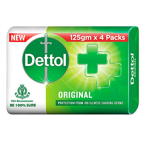 51jLRfblNvL - Dettol Original Soap, 125g (Pack Of 4)