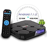 2018 Modelo GooBang Doo ABOX A1 max 8,1 TV BOX, 2 GB RAM ROM 16 GB Bluetooth 4.0 Amlogic S905W Quad Core A53 Processador 64 Bits