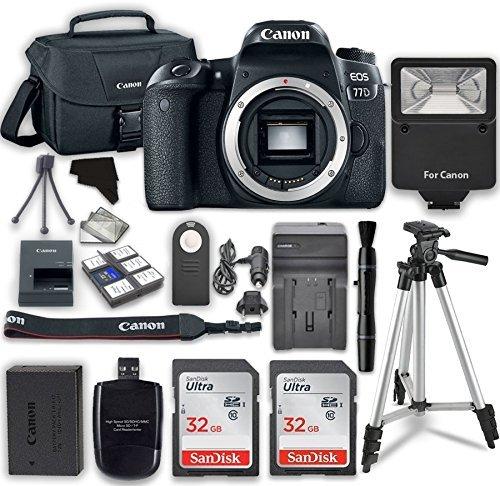 Canon EOS 77D Bundle 1