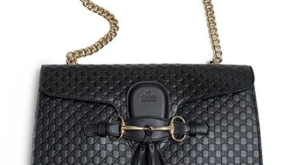 Gucci Women s Leather Micro GG Guccissima Mini Crossbody Wallet Bag ... 64858f4feda68