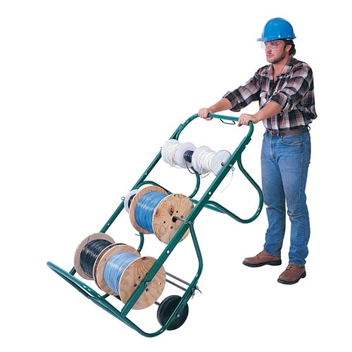 Greenlee 911 Large Capacity Wire Cart