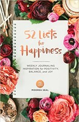 Book about Self-Care; 52 lists for happiness. Buy on Amazon Now