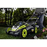 Ryobi. 20' RY40190 40-Volt Brushless Lithium-Ion Cordless Battery Self Propelled Lawn Mower with 5.0 Ah Battery and Charger Included
