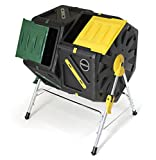 Miracle-Gro DC270MG DC140 Dual Chamber Tumbling Composter