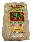Asian Best Premium Rice Stick Noodle, 16 oz (3 Pack)