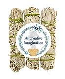 Alternative Imagination Premium California White Sage 4 Inch Smudge Sticks - 3 Pack, Brand