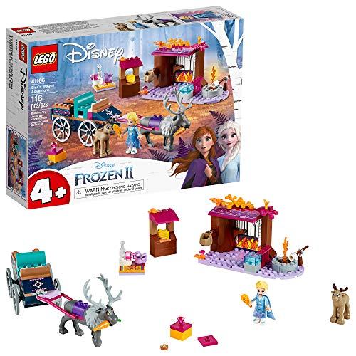 LEGO Disney Frozen II Elsa's Wagon Carriage Adventure 41166