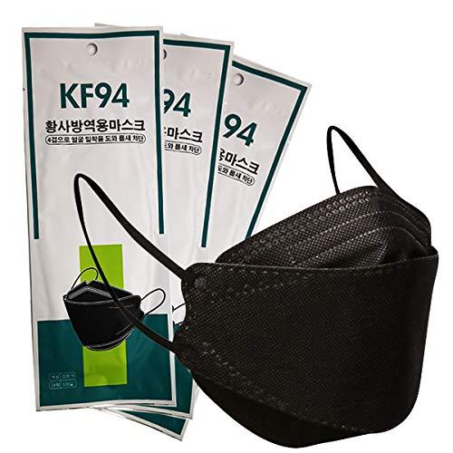 10-Piezas-Kf94-3d-Negro-Estilo-Coreano-Negro-Empaque-Individual-diseno-3D