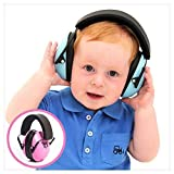 Hearing Protection Headphones. Noise Canceling for Children & Infants, Fully Adjustable for 0-12 Yrs. Low Profile Cups, Padded 'Snug Fit' Professional Earmuffs for Kids by My Happy Tot
