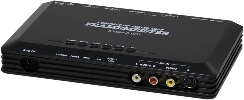 ビデオ信号をHDMIに変換するアップスケーラーを購入して輸出しました
