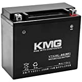 KMG Yamaha 600 YFV600FW Grizzly 1998-2001 YTX20L-BS Sealed Maintenace Free Battery High Performance 12V SMF OEM Replacement Maintenance Free Powersport Motorcycle ATV Scooter Snowmobile KMG