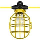 Sunlite EX50-14/2/SL 50 foot 5 bulb Incandescent Temporary Portable String Work Light Lighting, Yellow
