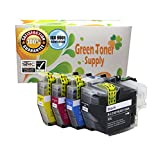 GTS Brand New Compatible Inkjet Cartridge Set of LC3019 Black + Color XXL High Yield Replacement Ink Cartridge for Brother Printer MFC-J5330DW, MFC-J6530DW, MFC-J6535DW, MFC-J6930DW (4-Pack)