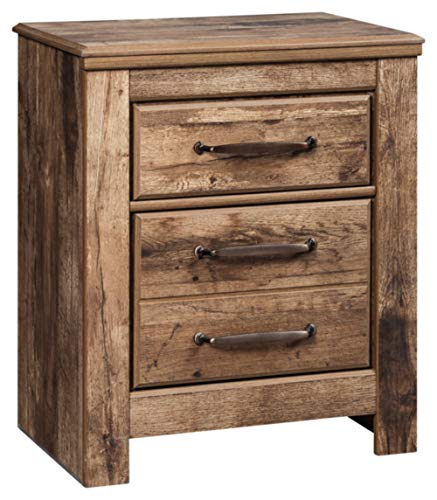 Signature Design by Ashley B224-92 Blaneville Nightstand, 15.91' D x 24.21' W x 29.23' H, Brown