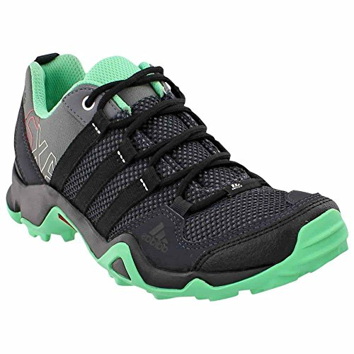 Adidas AX 2 Shoe - Women's Vista Grey / Black / Green Glow 9