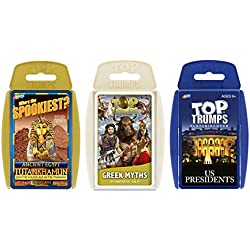 Interesting History Top Trumps Card Game Bundle