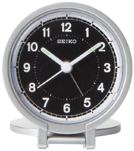 Seiko QHT011ALH Travel Analog Clock