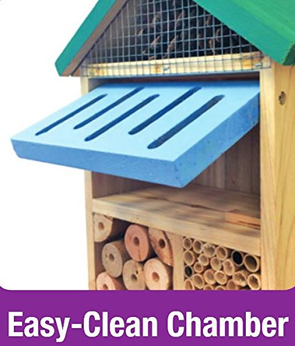 Natures-Way-Bird-Products-CWH7-Better-Gardens-Beneficial-Insect-House-4-Chamber