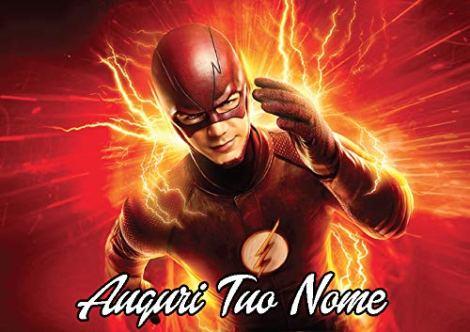 Cialda Personalizzabile Rettangolare Supereroi Marvel Flash
