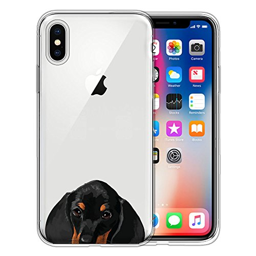 Clear Transparent TPU Silicone Protector Case Cover Soft Gel Skin for iPhone X XS
