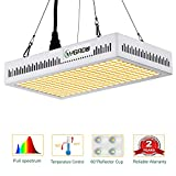 LED Grow Light Full Spectrum 600W,Reflector-Series Plant Grow Lights for Indoor Plants Veg and...