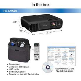 Epson-Pro-EX9220-1080p-WUXGA-3600-lumens-Color-Brightness-Color-Light-Output-3600-lumens-White-Brightness-White-Light-Output-Wireless-Miracast-HDMI-MHL-3LCD-Projector-Renewed