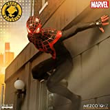 Mezco One:12 Collective Ultimate Spider-Man Miles Morales Action Figure SDCC Exclusive