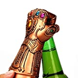 Aolvo Beer Bottle Opener, Marvel Studios Infinity War Infinity Gauntlet Thanos Glove Beer Wine Bottle Cap Opener,Great for for Bar, Party, Beer Lovers, Excellent Birthday Gifts for Kids Marvel Fans