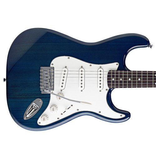 Stagg-S300-TB-Standard-Electric-Guitar-Trans-Blue