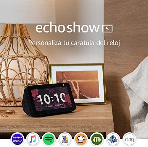 51jyglSdQVL. AC  - Echo Show 5   Pantalla con Alexa - Negro #Amazon