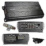 Audiopipe Mini 5ch Amplifier 1600w 17in. x 8.75in. x 3.75in.