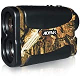 AOFAR Hunting Golf Range Finder-700 Yards 6X 25mm Waterproof Laser Rangefinder for Archery and Bow Hunting with Range Scan Fog and Speed Mode, Free Battery, Carrying Case