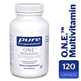 Pure Encapsulations - O.N.E. Multivitamin - Hypoallergenic Once-Daily Multivitamin w/Sustained Release CoQ10-120 Capsules