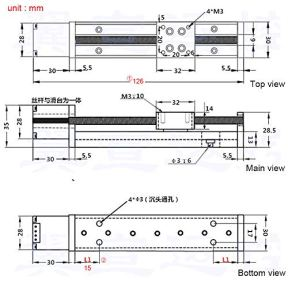 Linear-Rail-50mm-100mm-150mm-200mm-Linear-Stage-Actuator-with-Square-Linear-Rails-Mini-Slide-Table-NEMA-11-Stepper-Motor-for-DIY-CNC-Router-Milling-Machine-50mm