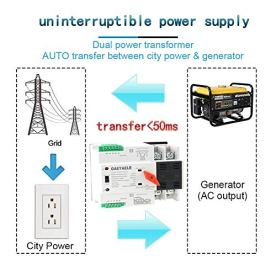 GAEYAELE-W2R-Mini-ATS-4P-Automatic-Transfer-Switch-Controller-Electrical-Type-ATS-Max-100A-4POLE-W2R-4P-63A