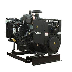45KW Winco Diesel Generator DE45F4-4/2, 120/208V, 3-PH, KEY START, 1800RPM, POWR-PAK, BLOCK HEATER, 54 GAL FUEL TANK – 8451103-042