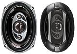 BOSS Audio P69.4C 800 Watt (Per Pair), 6 x 9 Inch, Full Range, 4 Way Car Speakers (Sold in Pairs)