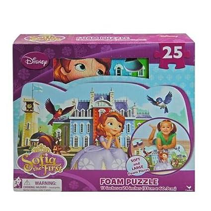 Disney Sofia the First 25 Pieces Soft Foam Puzzle Mat