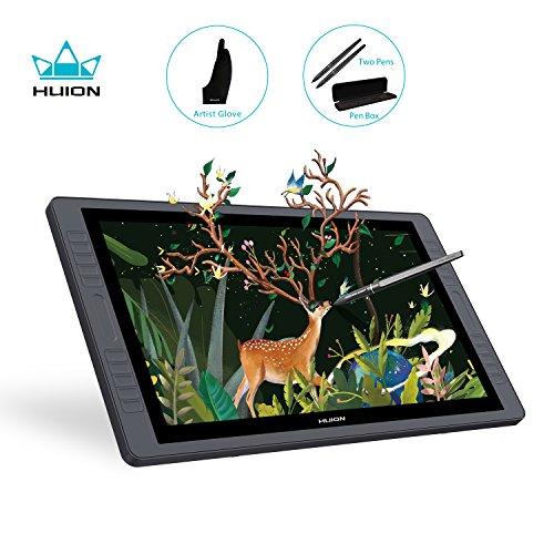 Huion KAMVAS GT-221 Pro HD Drawing Monitor Pen Display with 10 Press Keys and 8192 Pressure Sensitivity - 21.5 Inch