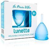 Lunette Reusable Menstrual Cup - Orange - Model 1 for Light Flow - Your Vagina's New Best Friend