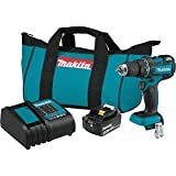 Makita XFD061 18V LXT Lithium-Ion COMPACT Brushless Cordless 1/2' Driver-Drill Kit (3.0Ah)