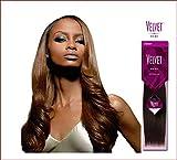 Outre Velvet Remi 100% Human Hair - Yaki Weaving 18' Color #1b