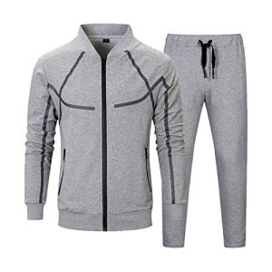 Men's Tracksuit Set 2 Piece Athletic Sports Casual Full Zip Active wear Sweatsuit 17 Fashion Online Shop gifts for her gifts for him womens full figure