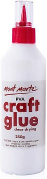 best glue for paper to glass - Mont Marte