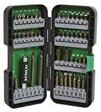 Hitachi 115293 T-Steel Impact Rated Driver Bit Set (45 Piece)